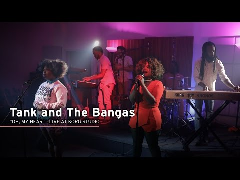 Tank And The Bangas Performs Oh Heart Live At Korg USA