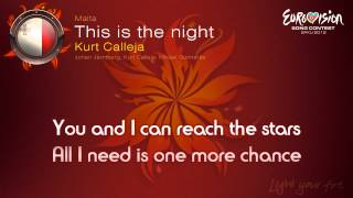"Kurt Calleja - ""This Is The Night"" (Malta)"
