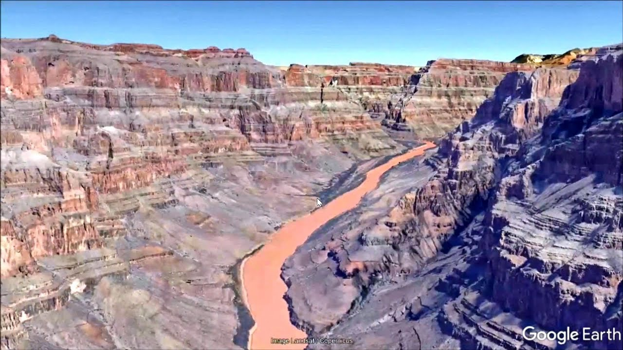 The Grand Canyon In Google Earth Pro Youtube