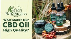 All Natural Organic CBD Oil - Kats Botanicals