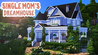 Single Mom's Dream House 🍼🌿 || The Sims 4: Speed Build