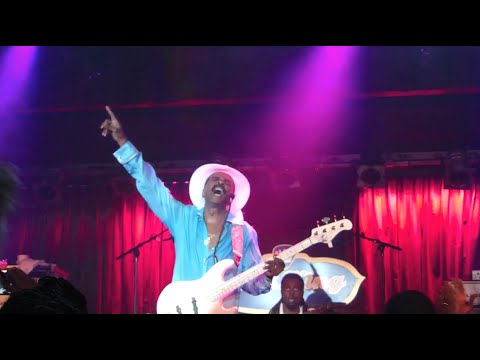 Larry Graham, Prince storyPurple Rain, BB King Blues Club, NYC 81316