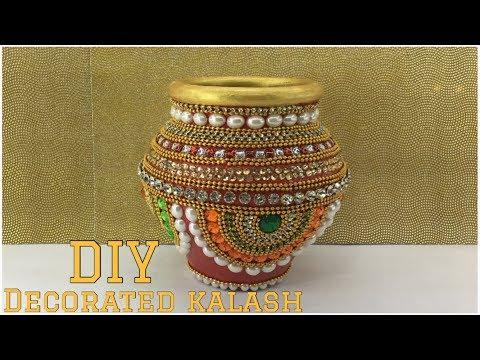 How to decorate pot || Matki decoration || Indian festival || lets make Art