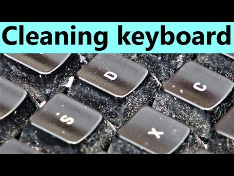 How to clean mechanical gaming keyboard with lights