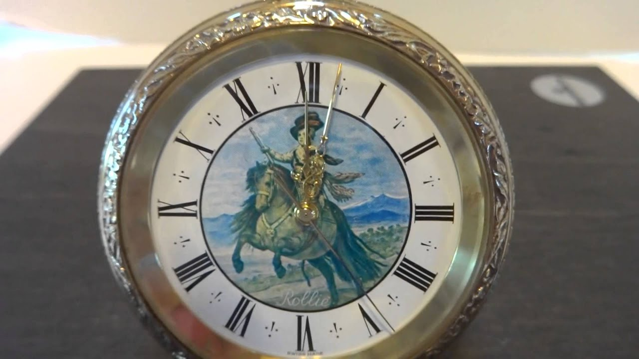 miniature watch sub clock watches bueche youtube alarm girod