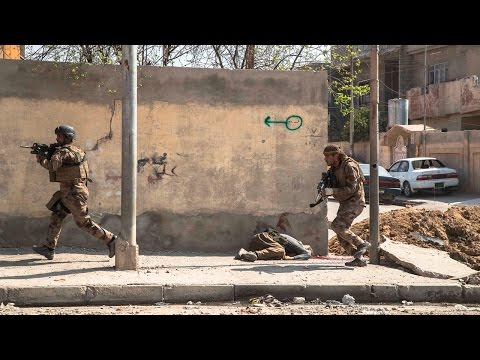 Vidéo exclusive. Mossoul-Ouest. Golden Division contre Daech