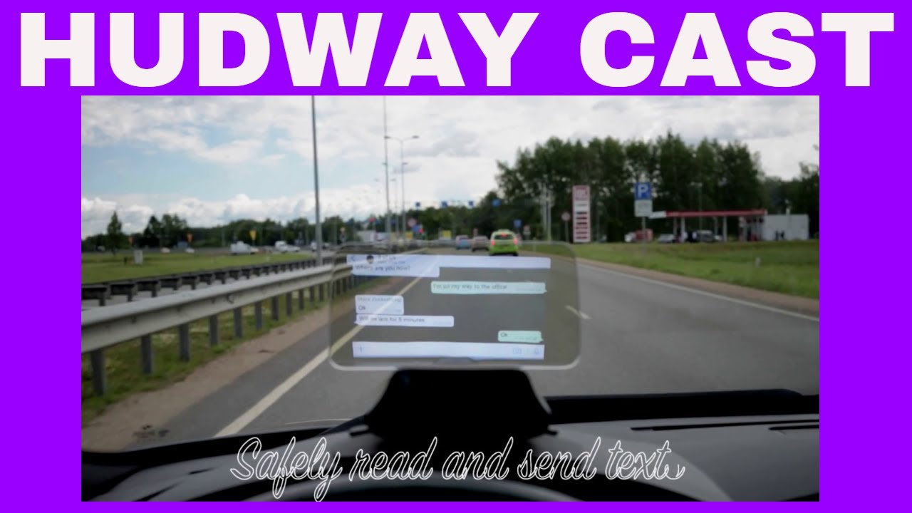 HUDWAY Cast Compatible with Google Maps Better than HUD Glass HUD Review
