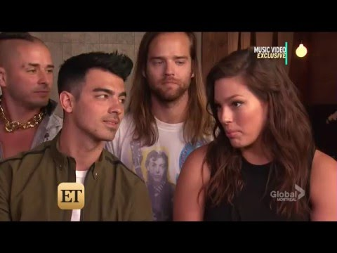 Joe Jonas interview 2016 with Ashley Graham / DCNE & ET