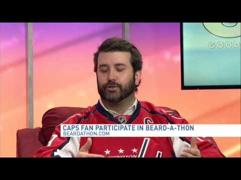 d8cf62c38 Washington Capitals fan Justin Taft talks Beard-A-Thon for charity ...