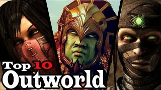Top 10 Outworld Characters
