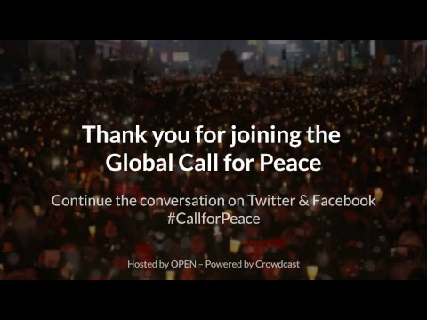 LIVE: Bernie Sanders Joins International Video Conference for Peace