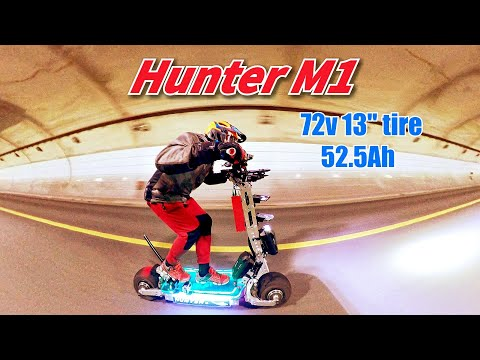 🛴103_[Hunter M1] Electric scooter for super long distances selected by 5th year rider !
