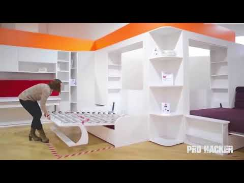 Great Space Saving Ideas - Smart Furniture