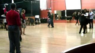 Argentine Tango Class Scenes Allegro Ballroom  www.tangonation.com  1/18/2013