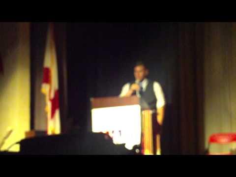 Don McCauley - National Art Honor Society Speech 04/10/15