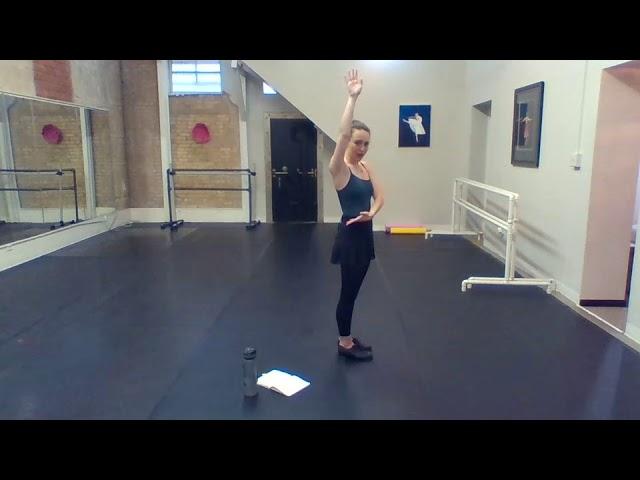 Miss Sarah Tap 1 4/21 part 2