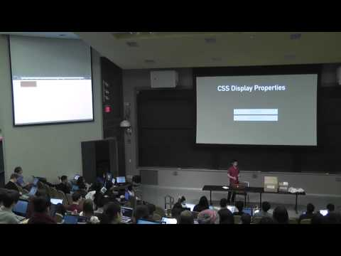 6.148 - Frontend I: HTML/CSS 2015