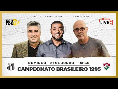 SANTOS 5 X 2 FLUMINENSE | LIVE COM ADEMIR QUINTINO, CAMANDUCAIA E GALLO