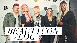 BeautyCon NYC 2018 Behind The Scenes Look With Glam Masters!   Diana Madison VLog