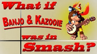 What If Banjo & Kazooie Was In Smash? (Moveset Ideas: 9)