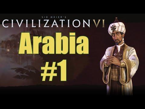 Civilization VI - Arabia - Deity - Part 1