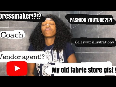 Nigerian Fashion Designer Looking For Jobs Abroad Watch This Youtube