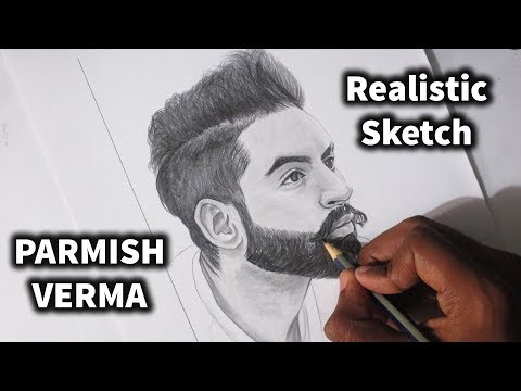 drawing PARMISH VERMA on the beat of his latest song RONDI