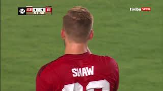 Milan 1-1 Manchester United | Uluslararası Şampiyonlar Kupası