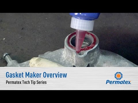 Gasket Maker Overview - Permatex Tech Tip Series