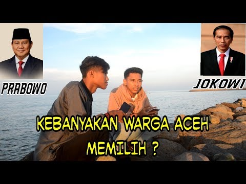 SOSIAL EKSPERIMEN WARGA ACEH MEMILIH JOKOWI ATAU PRABOWO | Pilpres 2019