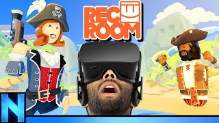 Trying Out New VR Adventures In REC ROOM