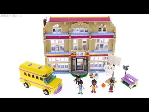 Lego Friends Heartlake Performance School Review 41134 Youtube