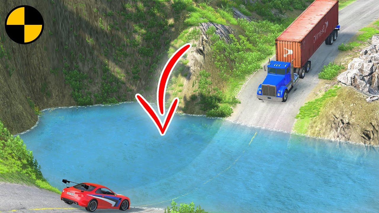 Cars vs Deep Water #2 😱 BeamNG.Drive