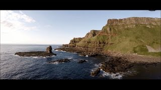 The Giants Causeway - Northern Ireland By Drone