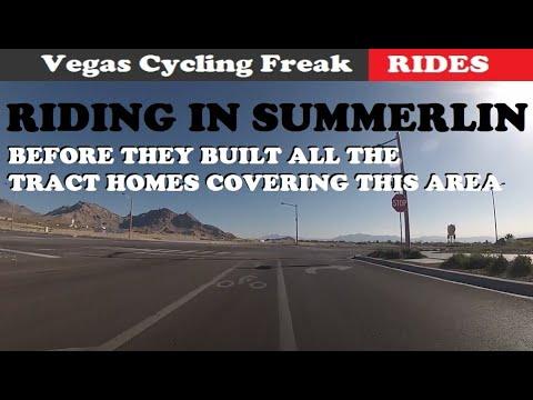 Bike ride around las vegas