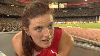 WCH 2015 Beijing - Lea Sprunger SUI 400m Hurdles Semi Final