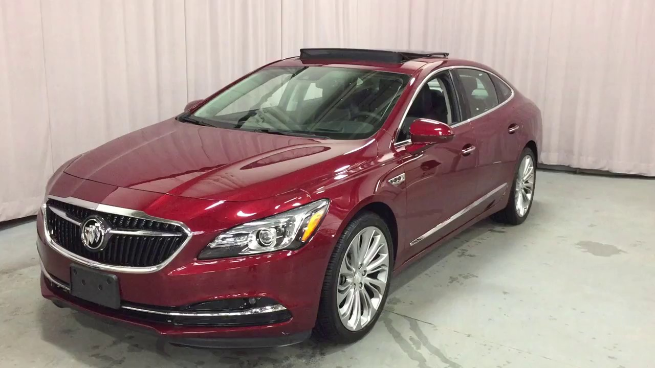 2017 Buick Lacrosse Premium Awd Sunroof Lane Keep Red Oshawa On Stock 170110