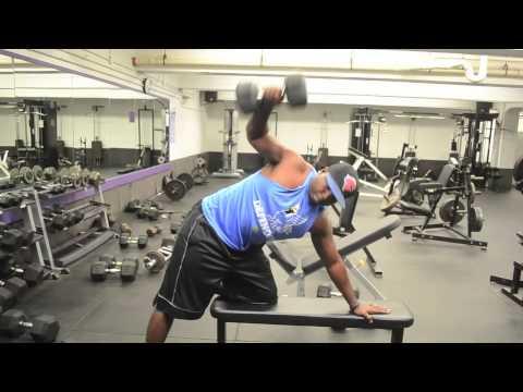 Train Like A Pro! - Single Arm Dumbbell Row & Reach