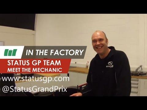 Status Grand Prix team, meet the mechanic | IN THE FACTORY