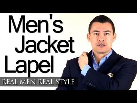 Men's Jacket Lapel Types - Peak Lapels - Notch Lapels - Shawl Lapel - Suit & Sport Jacket Lapels