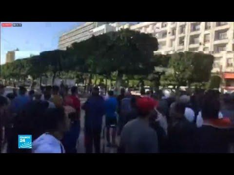 امرأة تفجر نفسها في وسط العاصمة التونسية