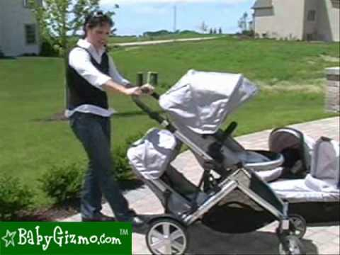 Baby Gizmo Britax B-Ready Stroller in Doubles Mode Review - YouTube