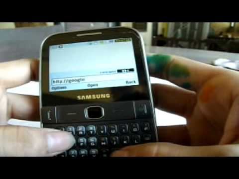 Samsung Chat 527 (With Front Camera) Review - Part 2 (In Depth Review)