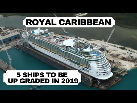 5 Royal Caribbean Cruise Ships Getting Upgraded in 2019 Mp3