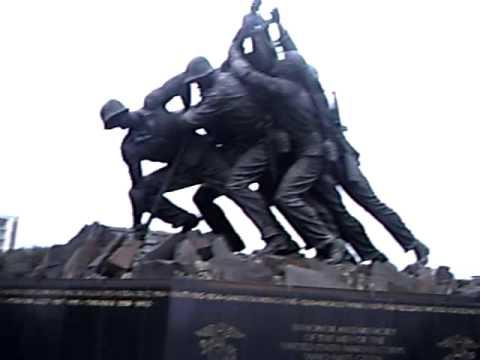 IWO JIMA Memorial 硫黄島メモリアルワシントンDC
