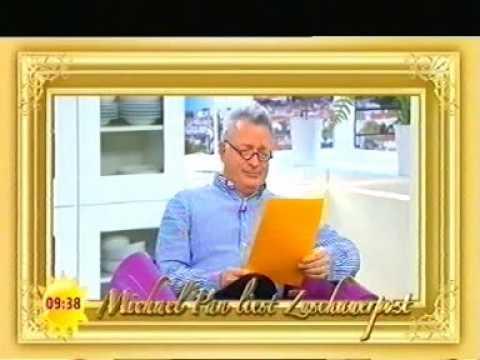 Michael Pan liest Zuschauerpost im Sat1 Frühstücksfernsehen