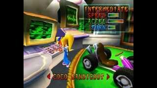 Crash Team Racing Walkthrough PSone HD1080p Part 1 of 2