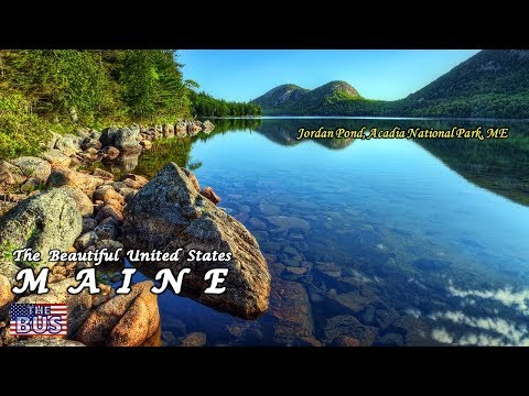 USA State of Maine Symbols / Beautiful Places / Song THE STATE OF MAINE SONG w/lyrics