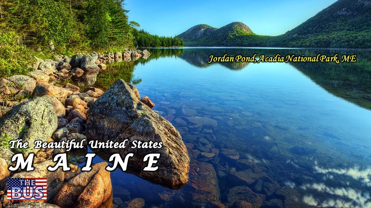 Pond Wallpaper Hd Usa Maine State Symbols Beautiful Places Song The State Of