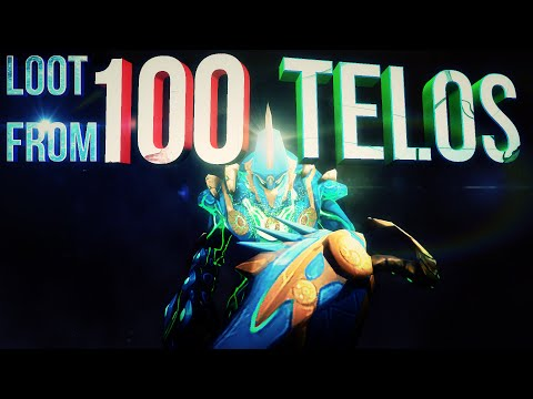 """(HD) LOOT FROM 100 TELOS """"The Warden"""" KILLS with RsshortVids"""